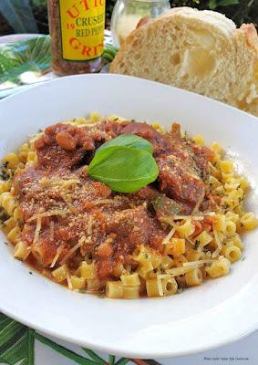 Italian Sausage and White Bean Pasta
