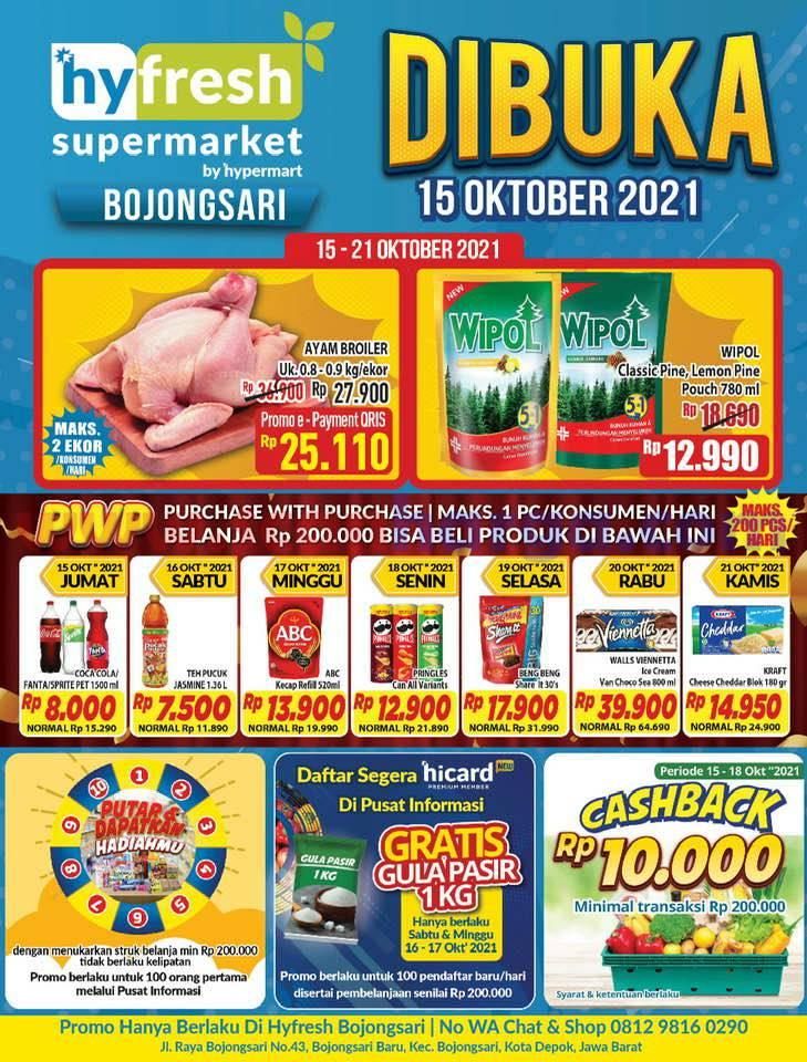 Hypermart Bojongsari Depok Promo Grand Opening