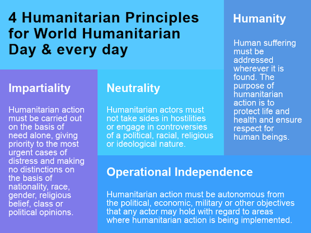 What is a humanitarian The United Nations