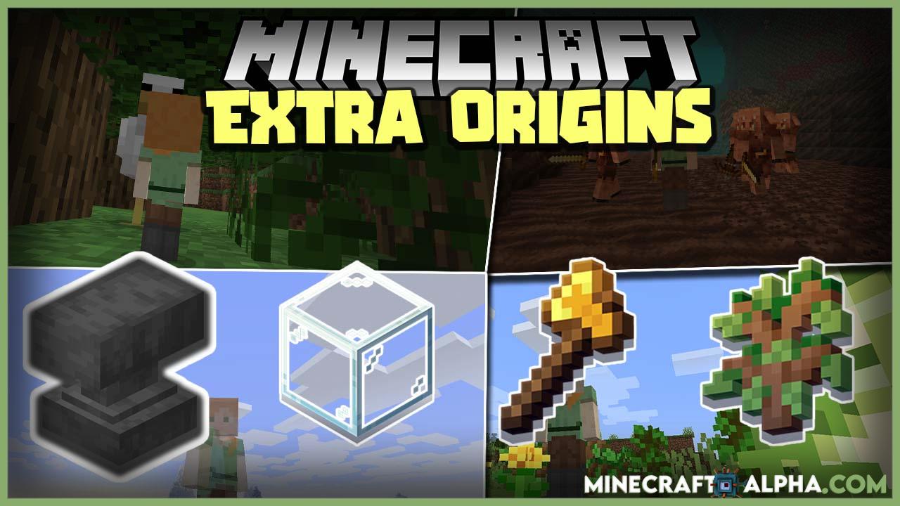 Minecraft Extra Origins Mod 1.17.1 More Backstories