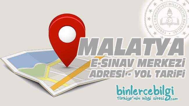 Malatya e-sınav merkezi adresi, Malatya ehliyet sınav merkezi nerede? Malatya e sınav merkezine nasıl gidilir?