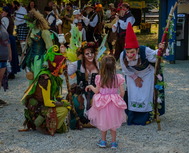 Ohio Renaissance Festival Fairies and Gnome