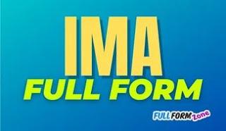 IMA Full Form