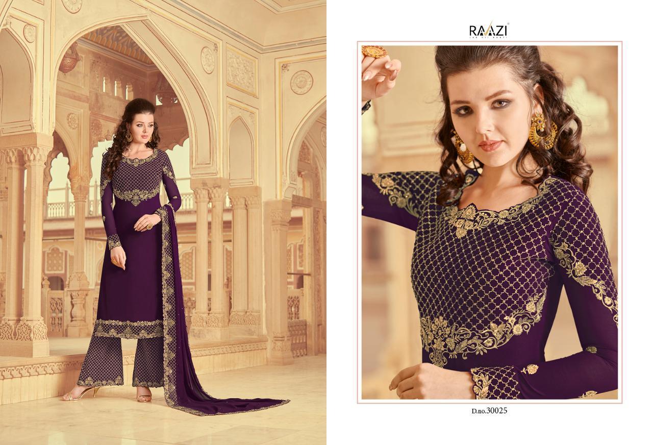 Raazi Zarkan Designer Salwar Suits Catalog Lowest Price