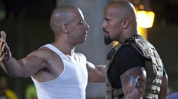 Dwayne Johnson says that when he jumped against Vin Diesel, the 'Fast & Furious' team thanked him