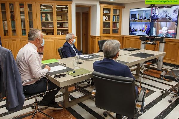 El Gobierno prevé que este miércoles queden fijados los criterios de adjudicación de las viviendas provisionales para los afectados por el volcán en La Palma
