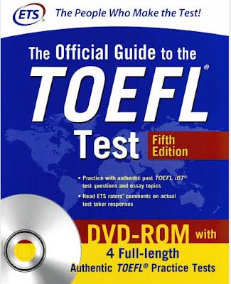 تحميل كتاب رائع التحضير لإختبار التوفل بعنوان  The Official Guide to the TOEFL Test