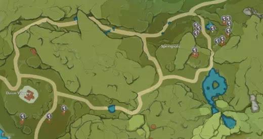 Cara Menemukan Lokasi Jamur Philanemo di Genshin Impact-2