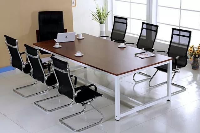 Ghế lưới chân quỳ cho phòng họp