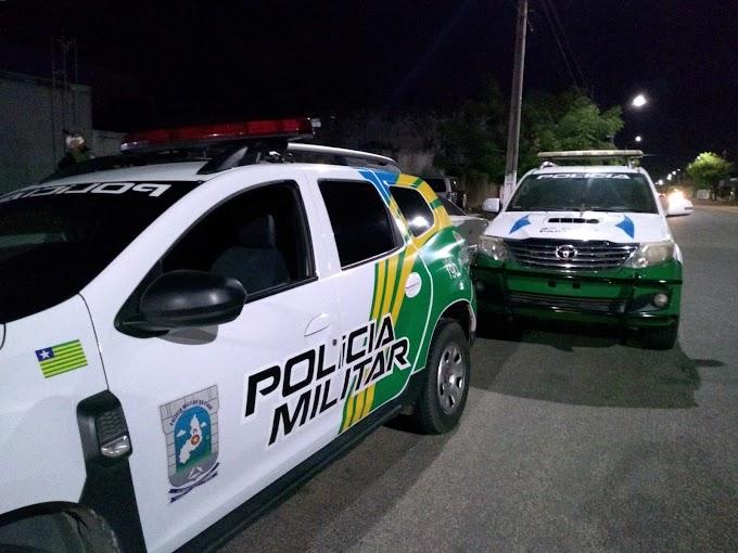 Policia Militar efetua prisão de suspeito de realizar assaltos em Parnaíba