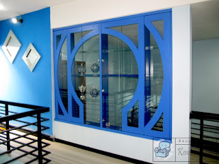 Sekat Ruangan Hiasan Bahan Kaca + Furniture Rumah Semarang