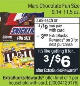 SNICKERS, M&M'S Milk Chocolate & MILKY WAY