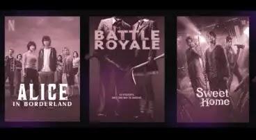 Battle Royale 2000,High-Rise Invasion,Darwin's Game 2020,Escape Room 2019,The Society,The Purge,Sweet Home 2020,مسلسلات شبيهة ب squid game,مسلسلات تشبه squid game,مسلسلات مثل squid game,مسلسلات مشابهة ل squid game,افلام مثل لعبة الحبار, Cube,The Hunger Games,Alice In Borderland,Re: Mind,Dark,3%,Black Mirror,Squid Game,