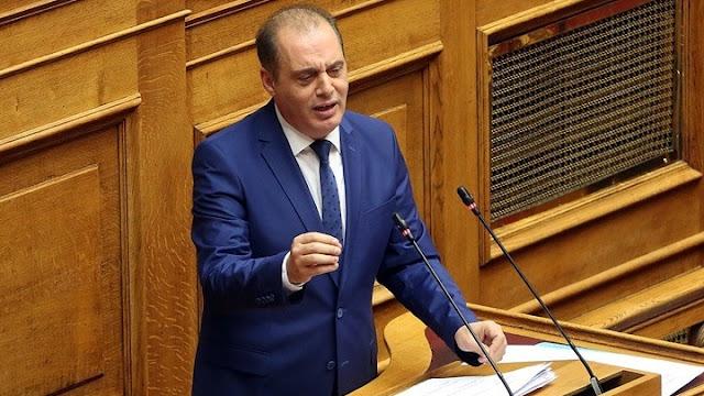 Ερώτηση Βελόπουλου για την επαναλειτουργία της σιδηροδρομικής γραμμής Κόρινθος - Ναύπλιο