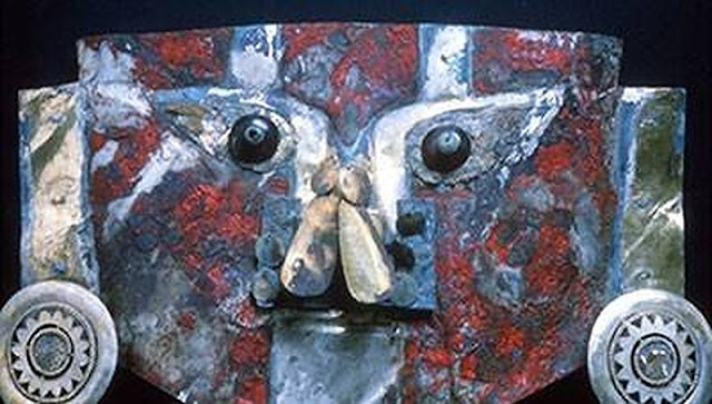 Red paint on 1,000-year-old gold mask from Peru contains human blood proteins