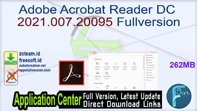 Adobe Acrobat Reader DC 2021.007.20095 Fullversion