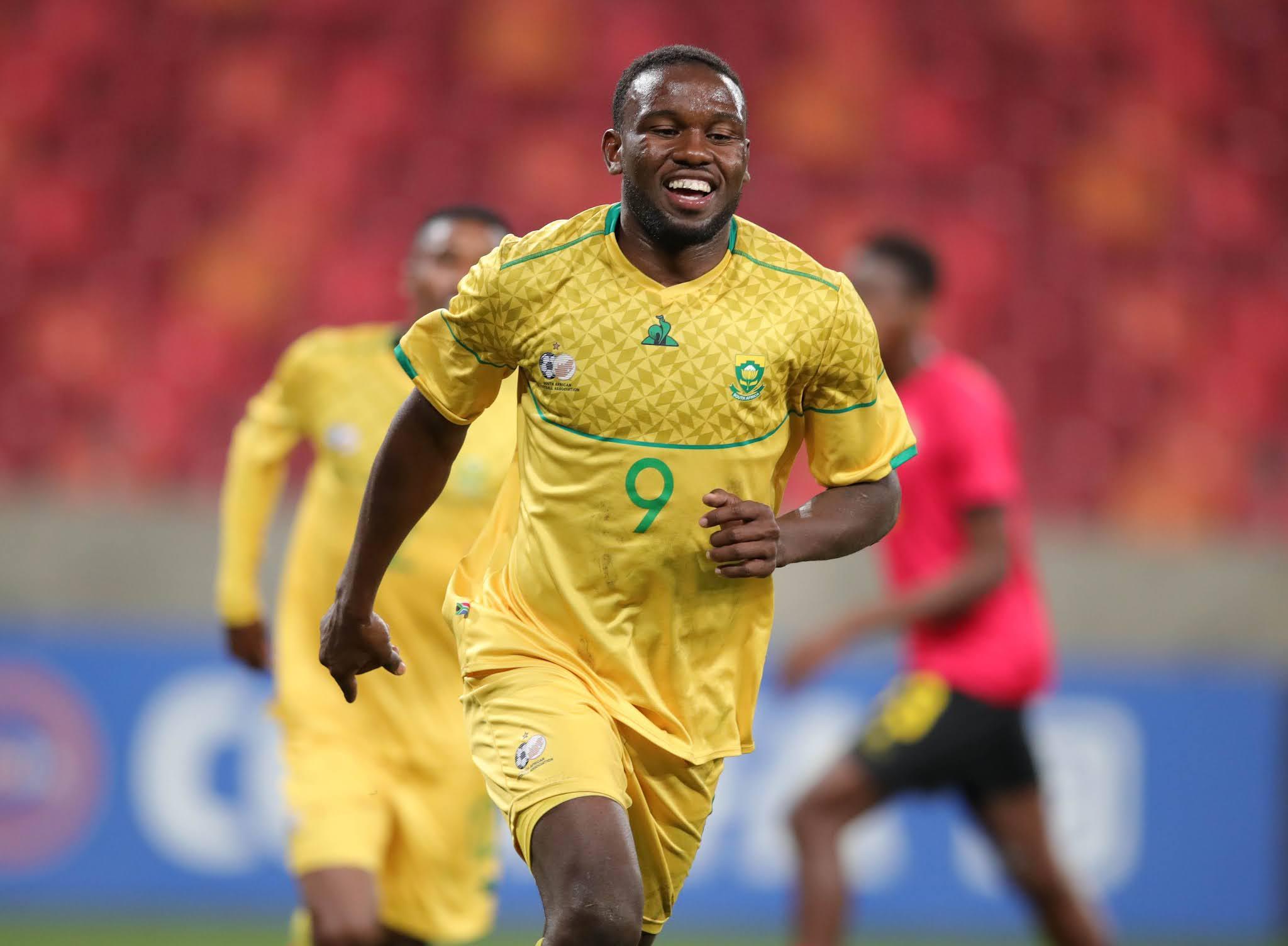 Bafana Bafana striker Victor Letsoalo