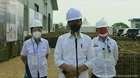 Kunker Ke Jawa Timur, Presiden Tinjau Pabrik Porang