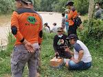 Hendak Berpiknik di Jembatan Gantung Kampung Banjar Empat Orang Tenggelam, Tiga Diantaranya Masih Dalam Pencarian