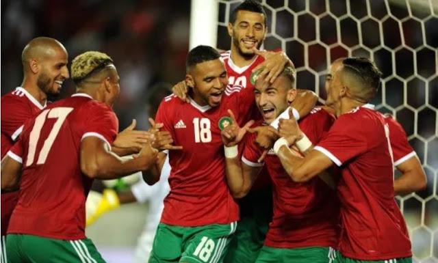 ملخص اهداف مباراة المغرب وغينيا بيساو (3-0) تصفيات كاس العالم