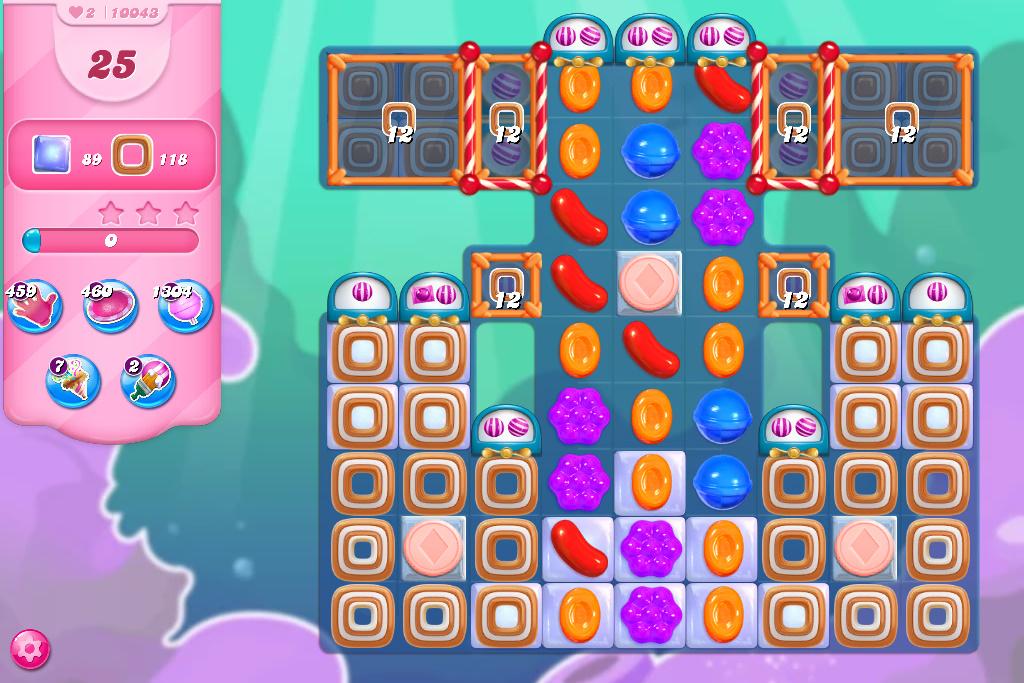 Candy Crush Saga level 10043