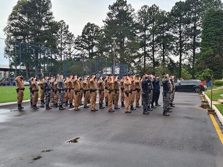 16º Batalhão da Polícia Militar sedia XVI Curso de Controle de Distúrbios Civis.