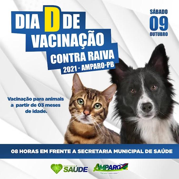 Cidade de Amparo promove Dia D da campanha de vacinação antirrábica neste sábado