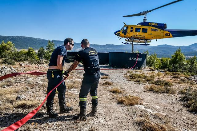 114 περίπολοι στη Θράκη για πυρκαγιές