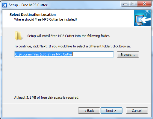 Hướng dẫn cài đặt Free MP3 Cutter d