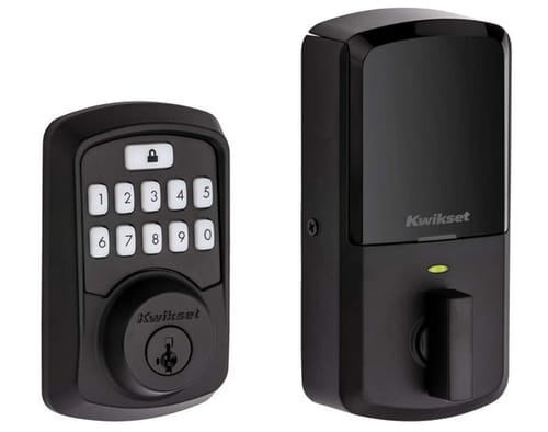 Kwikset Keypad Door Lock Deadbolt Featuring SmartKey Security