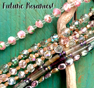 beautiful czech beads for rosaries merryneedle etsy