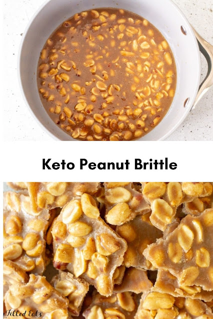 Keto Peanut Brittle