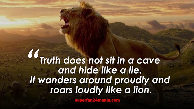 26 Best Lion Quote That's will Make You Roar | Lion Quotes Images.