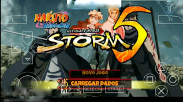 تحميل لعبة naruto ultimate ninja storm 5 على محاكي ppsspp