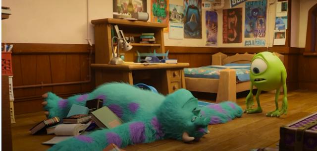öğrenciler için motivasyon filmleri- sevimli canavarlar üniversitesi