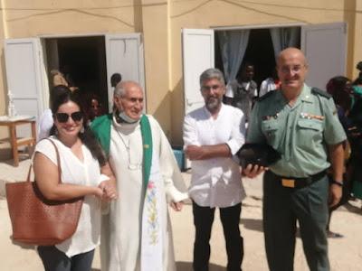 Nouadhibou : La comunidad española de Nouadhibou celebró esta mañana a la Virgen del Pilar