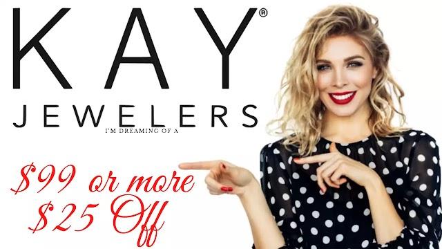 Kay Jewelers Coupon - $25 Off w/2022 Promo Code