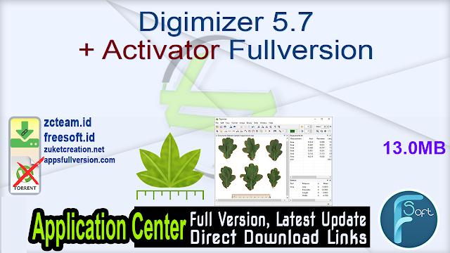 Digimizer 5.7 + Activator Fullversion