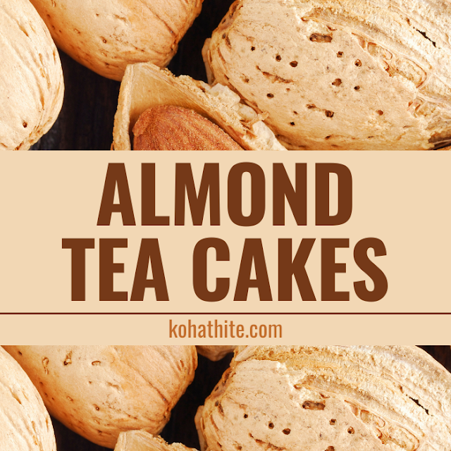 Almond Tea Cakes - Sweet Dishes - Kosher Recipes And Cooking - Food For Shabbat - Homemade