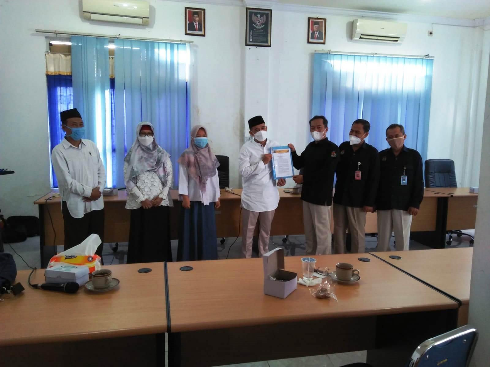 Partai Ummat Kenalkan Diri ke KPU Kabupaten Kebumen