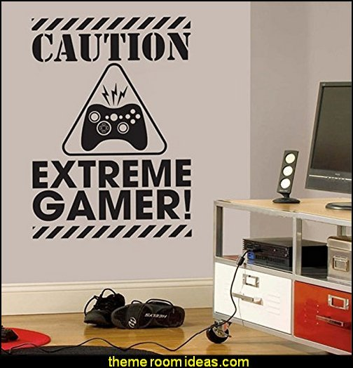 gamer wall decals gaming room wall decor Gamer Wall Decal Sticker.