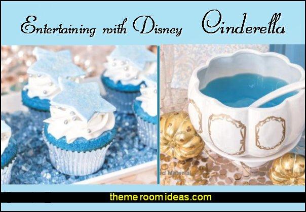 Entertaining with Disney cinderella party cooking cinderella party cookbook