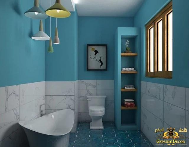 ديكور حمامات مودرن 2022