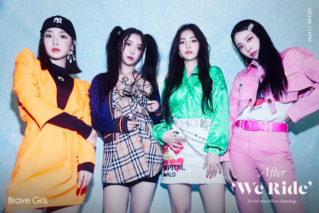 Brave Girls hace comeback con After 'We Ride' 2021