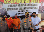 Kasus Pencurian Sarang Burung Walet Terungkap, Kapolres Ngawi: Kita Ringkus 2 Tersangka dan 1 Masih DPO