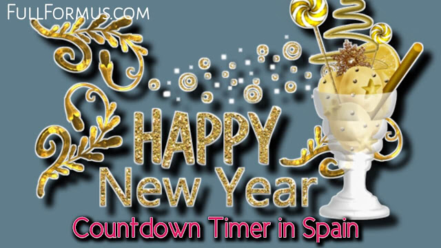 Happy New Year's in Spain Countdown 2022