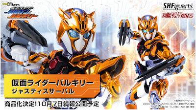 S.H. Figuarts Kamen Rider Valkyrie Justice Serval Official Images