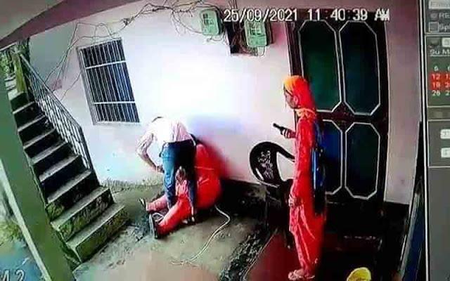 हमीरपुर: CCTV कैमरे लगाने से रोका तो देवर ने भाभी की कर दी पिटाई, और फिर