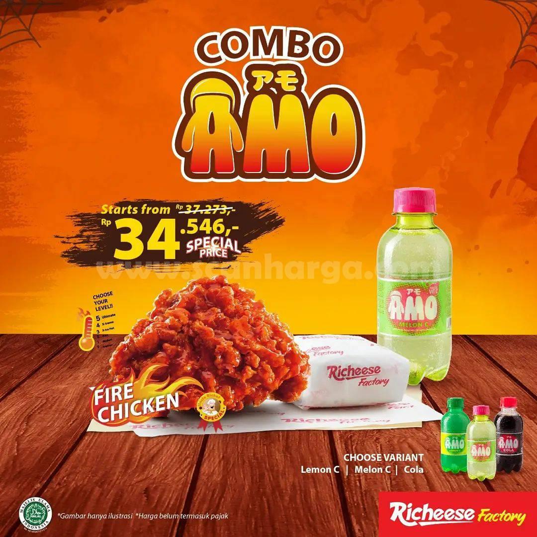 Promo Richeese Factory Hari ini - Special Price mulai Rp 35.455,- saja