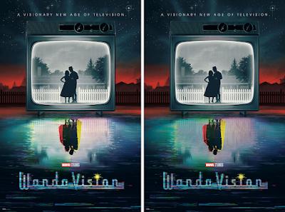 New York Comic Con 2021 Exclusive WandaVision Screen Print by Matt Ferguson x Bottleneck Gallery x Marvel